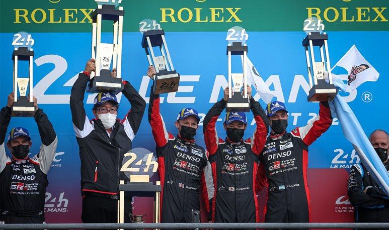 Le Mans Podio