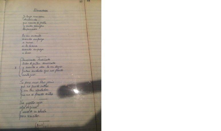 Manuscrito Sandro