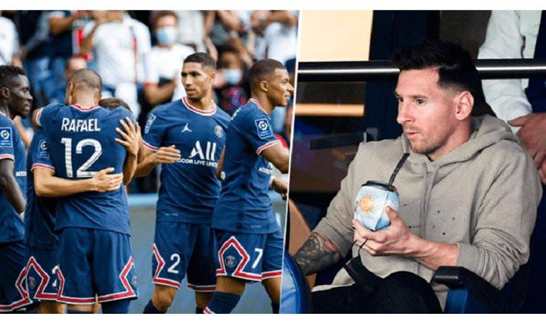 Messi  Mate PSG