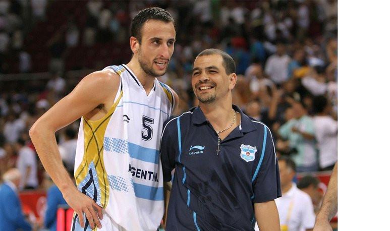 Sergio Hernández - Manu Ginobili