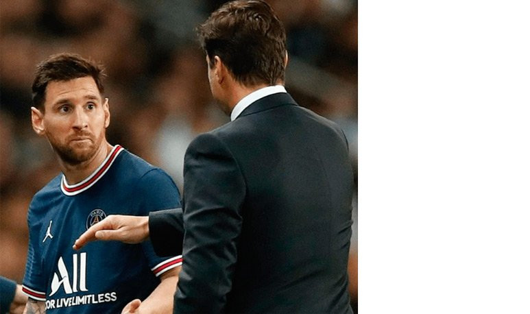 Messi y Pochettino
